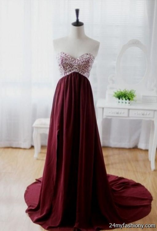 maroon prom dresses tumblr 20162017 b2b fashion