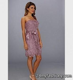 Mauve Lace Dress - Missy Dress