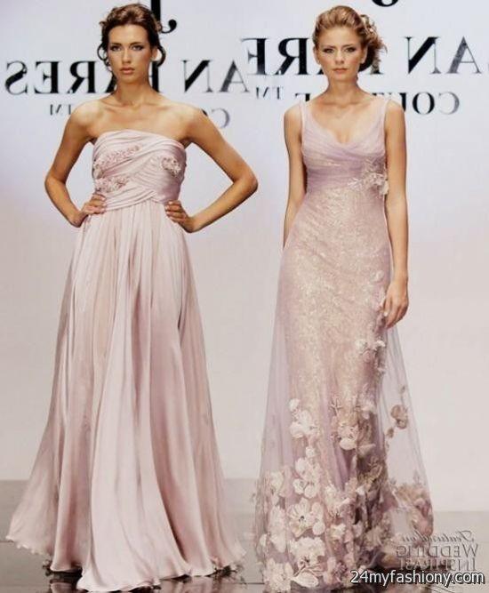Mauve Wedding Dress Looks B2b Fashion