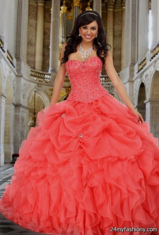 04c65ffd8f You can share these melon quinceanera dresses on Facebook