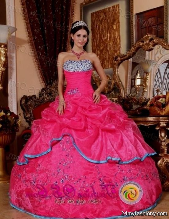 Mexican Style Quinceanera Dresses 2016 2017 B2b Fashion