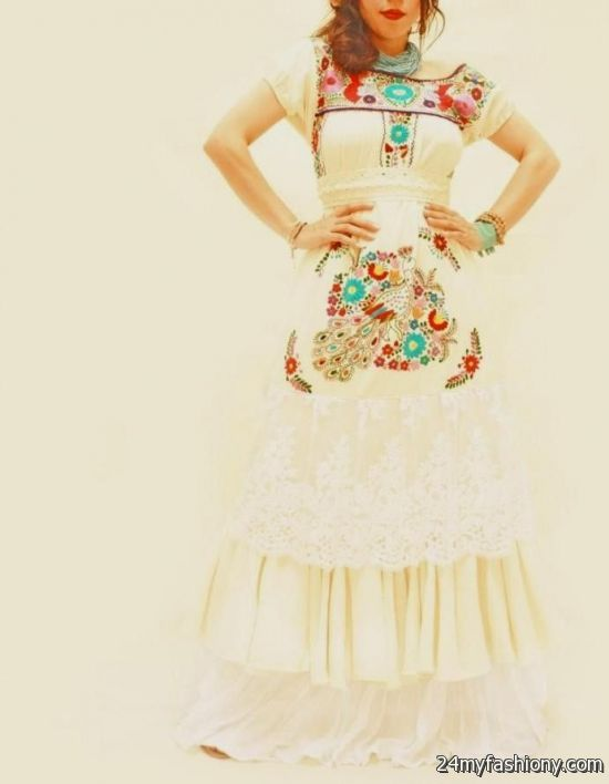 Mexican Wedding Dress 2016 2017