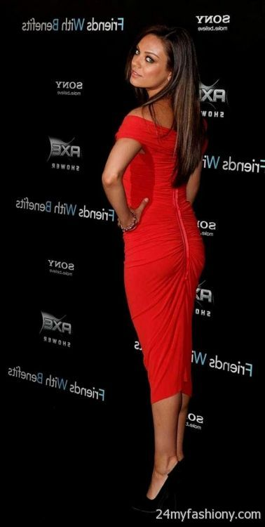 mila kunis red dresses 2016-2017 » B2B Fashion