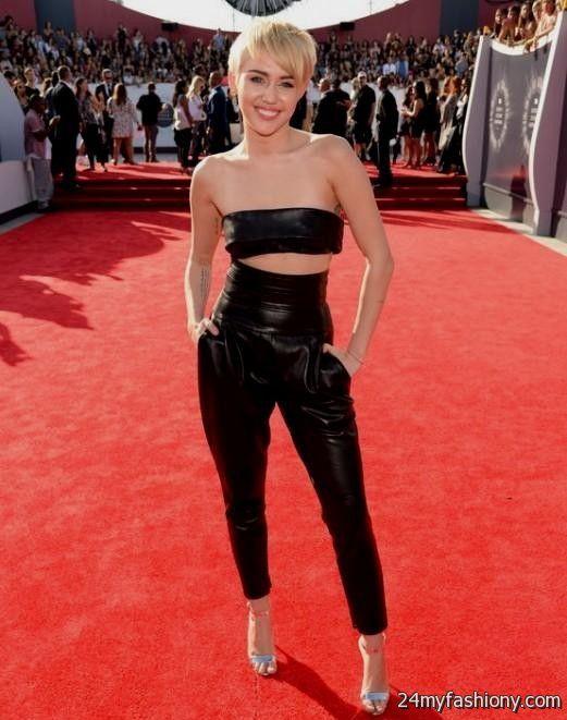 Miley Cyrus red carpet...