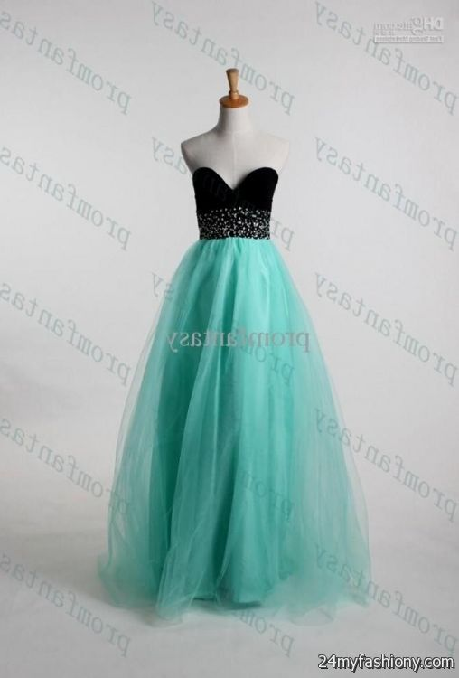 fe5aa800b51d You Can Share These Mint And Black Prom Dress On Facebook Stumble Upon My E  Linked. Mint And Black Prom Dress Looks B2b Fashion