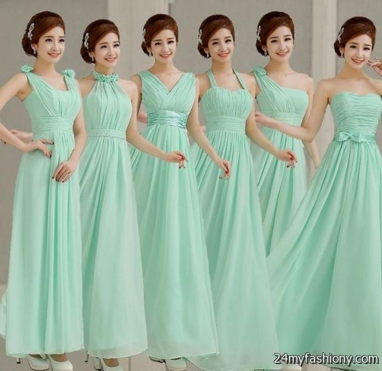 Mint green bridesmaid dresses 2016 2017 187 b2b fashion