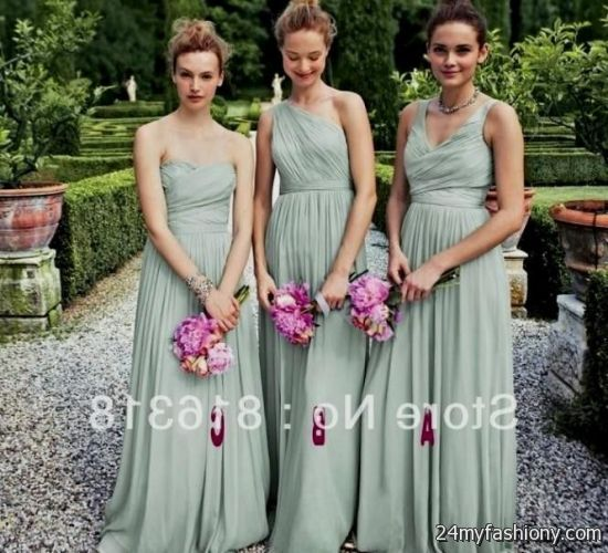 Bridesmaid Dress Trends 2017