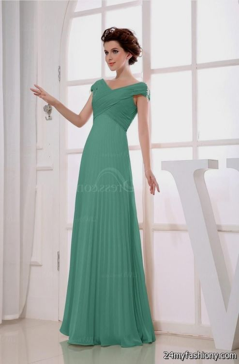 mint green bridesmaid dresses with sleeves 2016-2017 | B2B Fashion