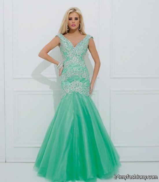 Mint Green Prom Dresses Looks B2b Fashion