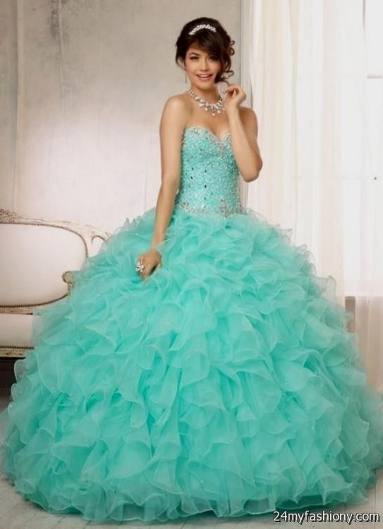 Mint Green Quinceanera Dresses 2014 - Missy Dress