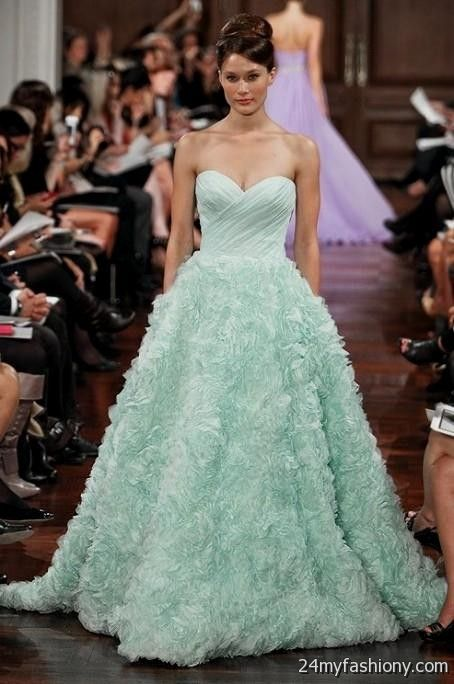 mint green wedding dress 2016-2017 | B2B Fashion