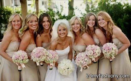 mismatched beige bridesmaid dresses 2016-2017 » B2B Fashion