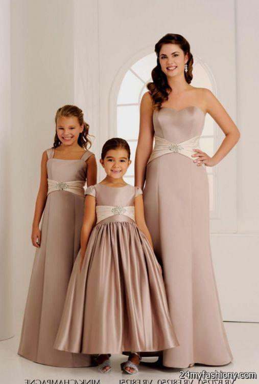 Mocha Brown Bridesmaid Dresses