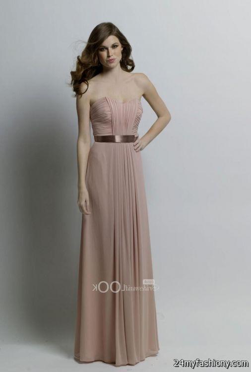mocha bridesmaid dresses 2016-2017 » B2B Fashion