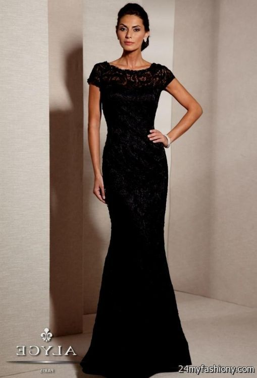 Black Evening Gowns Modest – Dresses for Woman