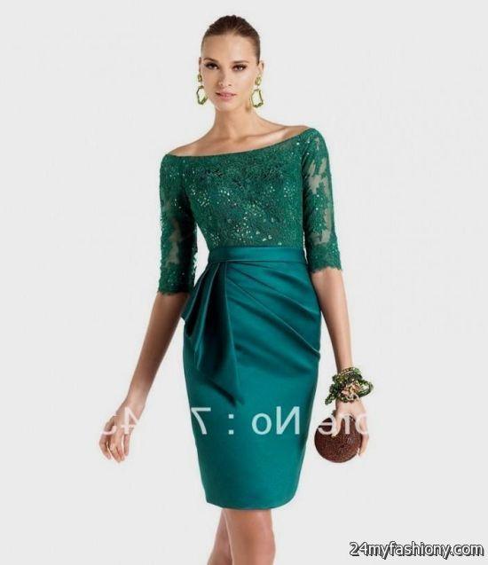 Modest Cocktail Dress - Ocodea.com