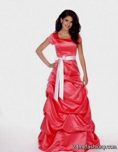 Modest homecoming dresses with sleeves boutique prom dresses for Modest wedding dresses seattle