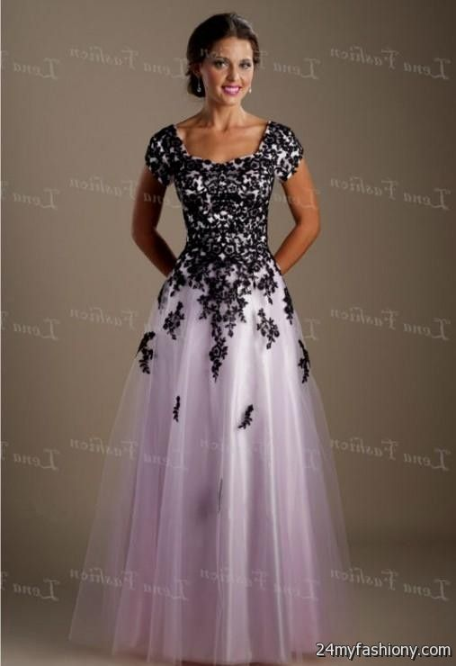 You can share these modest prom dresses on facebook stumble upon my