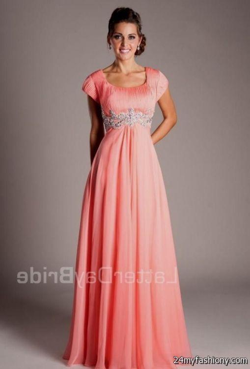 Modest Prom Dresses Lds - Ocodea.com