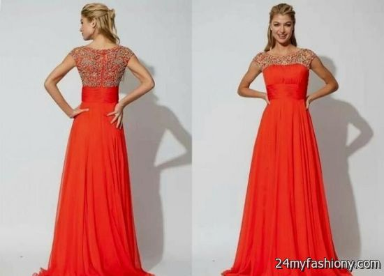 modest prom dresses red 2016-2017 | B2B Fashion