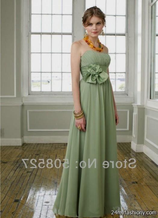 moss green bridesmaid dresses 2016-2017 » B2B Fashion