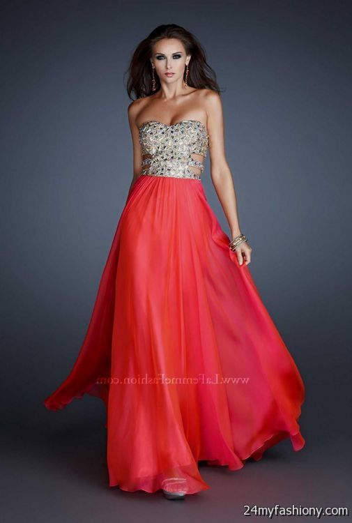 Most Beautiful Red Prom Dresses In The World 2016-2017 | B2B Fashion
