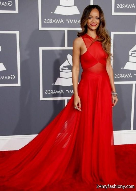 Red Carpet Themed Prom Dresses