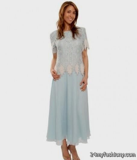 Mother Of The Bride Dresses Tea Length Lace 2016-2017