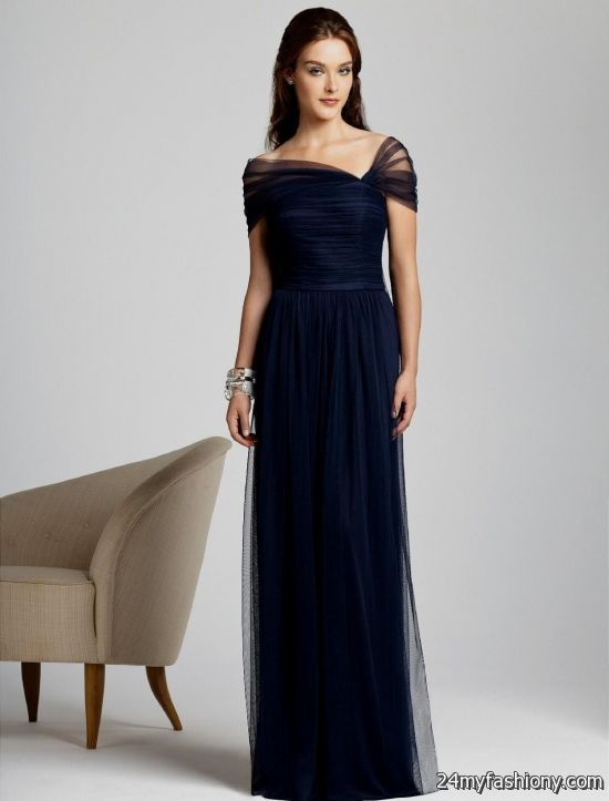 Navy Blue Bridesmaids Dresses With Sleeves : Navy blue bridesmaid dress with sleeves  ? b fashion