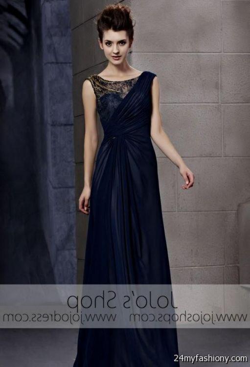 navy blue military ball gown 2016-2017 » B2B Fashion
