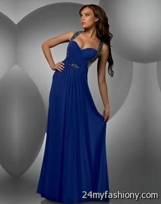 Dark Blue Prom Dresses 2017 Photo Album - Asatan