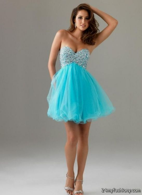 Neon Blue Homecoming Dresses - Missy Dress