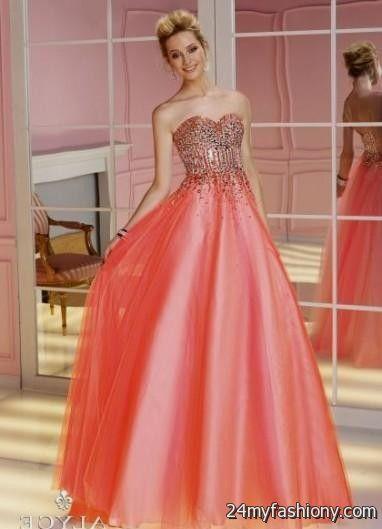 neon coral quinceanera dresses 2016-2017 » B2B Fashion
