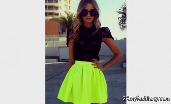 neon dresses for teenagers 2016-2017 » B2B Fashion