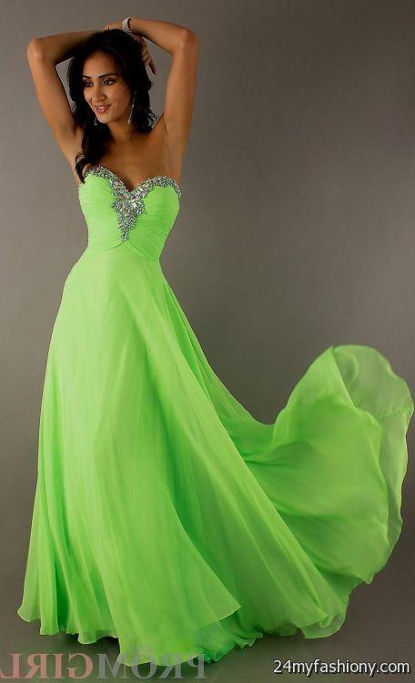 neon green prom dress 2016-2017   B2B Fashion
