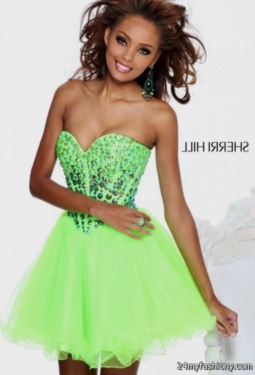 neon homecoming dresses - Dress Yp