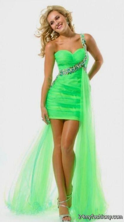 Neon green wedding dresses 2016 2017 b2b fashion for Apple green dress for wedding