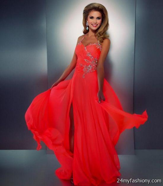 neon orange prom dresses 20162017 b2b fashion