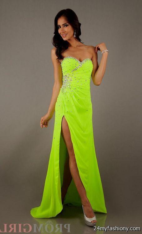 Neon Orange Prom Dresses Looks B2b Fashion