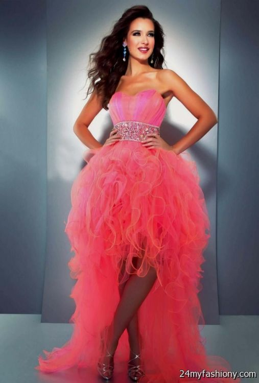 Long Party Dresses for Juniors Neon