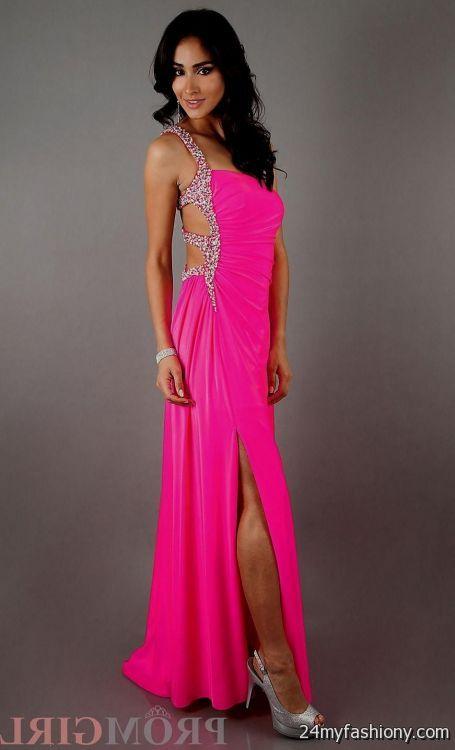 Neon Prom Dresses 6