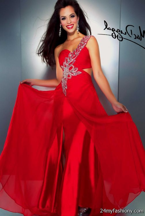 neon red prom dresses 2016-2017 » B2B Fashion