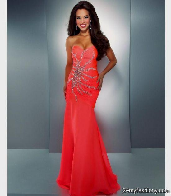 neon red prom dresses 2016-2017 » B2B Fashion