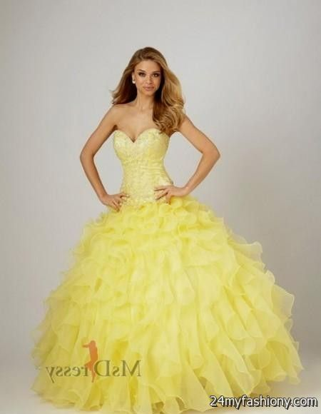 neon yellow wedding dresses 2016-2017 » B2B Fashion