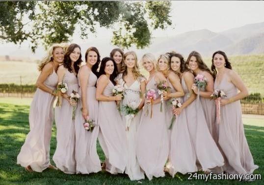 Neutral Bridesmaid Dress