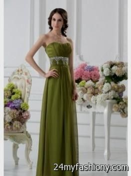 577f6941ed olive green prom dresses looks
