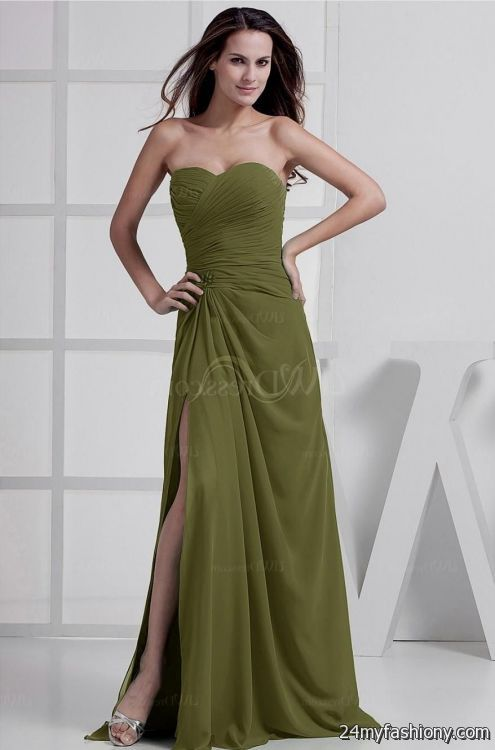 Olive Prom Dresses