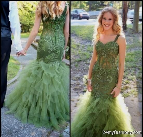 6bc4944236 You can share these olive green prom dresses on Facebook