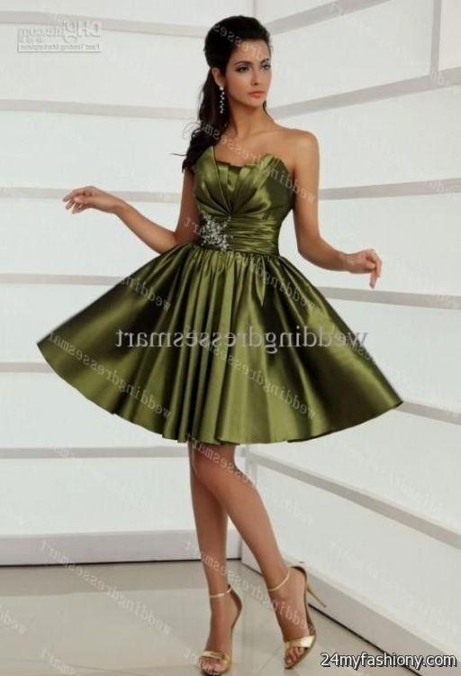 ccc74e9b85d olive green prom dresses looks