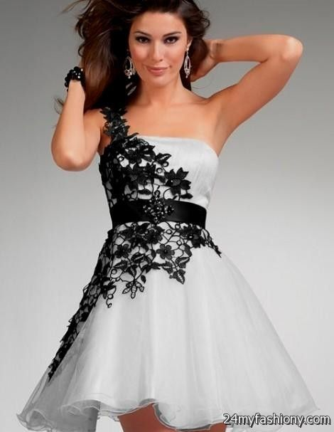 one shoulder prom dresses lace 2016-2017 » B2B Fashion
